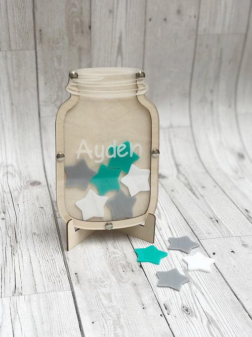 Personalised Children's Reward Jar