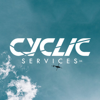 𝗜𝗻𝘁𝗿𝗼𝗱𝘂𝗰𝗶𝗻𝗴 𝗕𝗲𝗻 / 𝗖𝘆𝗰𝗹𝗶𝗰 𝗦𝗲𝗿𝘃𝗶𝗰𝗲𝘀 𝗟𝘁𝗱 Based in Auckland, Cyclic services are setup to perform helicopter maintenance, projects, and modifications, as well as provide import/export solutions.  Get in touch with Ben if Cyclic Services can help you today. Ben@cyclicservices.co.nz ... Ben and his wife Meaghan, sent through some initial sketches for what they envisioned. After some refinement and digitizing the result was a logo they are stoaked with!
