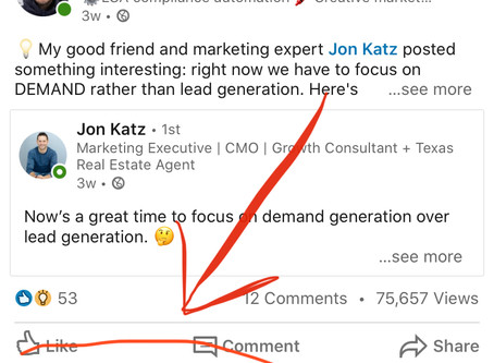 My Latest LinkedIn Content Virality Experiment - Sharing Other Peoples' Posts!