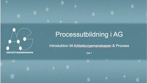 Processutbildning i Arkitekturgemenskapen