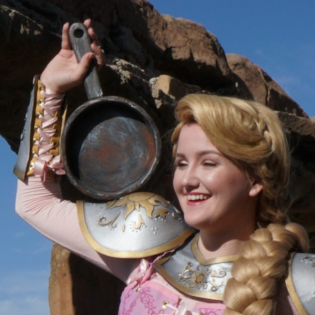 Rapunzel's Foam Pan Tutorial ( Con-safe)