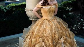Belle Gold Dress Tutorial