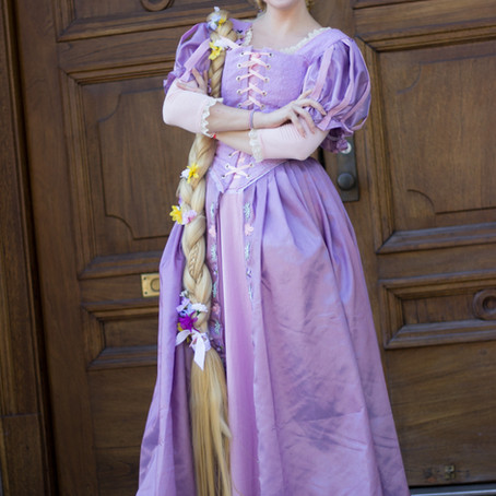 Rapunzel Costume Tutorial