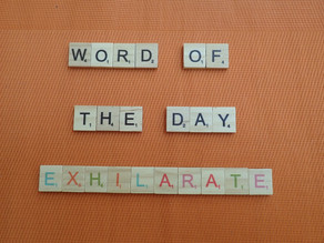 Word of the Day – exhilarate