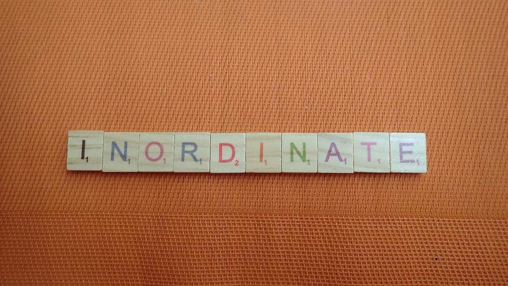 Word of the Day - inordinate
