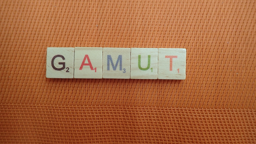 Word of the Day - gamut