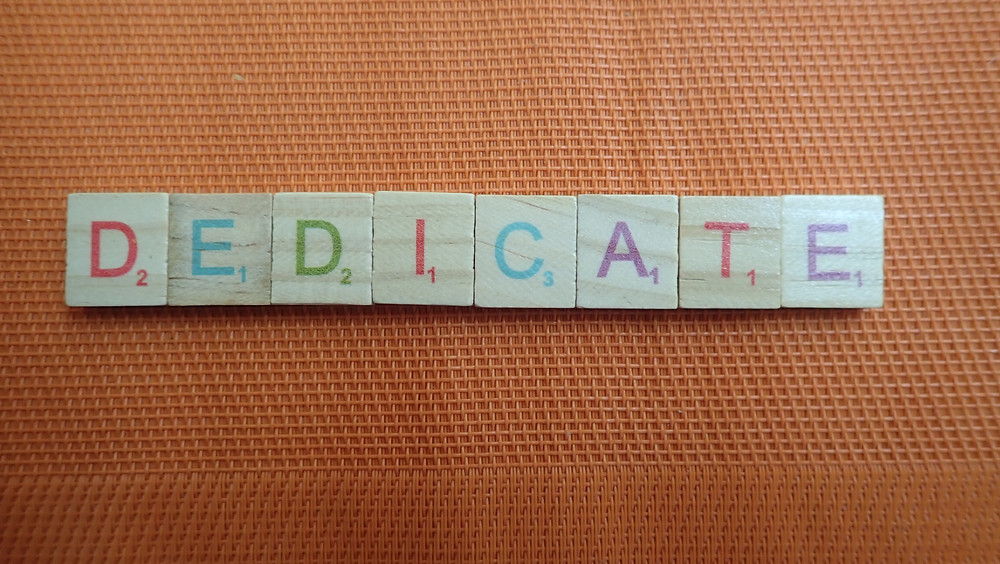 Word of the Day - dedicate