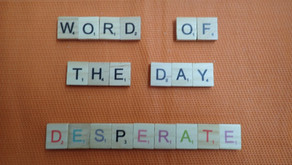 Word of the Day - desperate