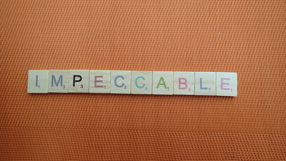 Word of the Day - impeccable
