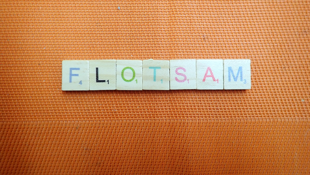 Word of the Day - Flotsam
