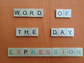 Word of the Day – Expression