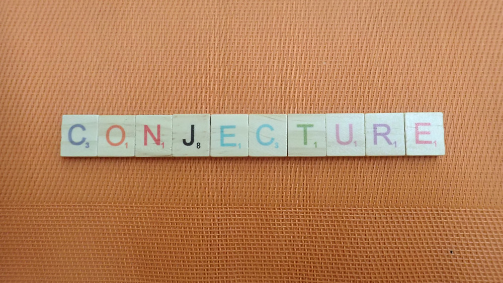 Word of the Day - conjecture