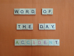 Word of the Day - accident