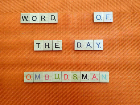 Word of the Day - Ombudsman