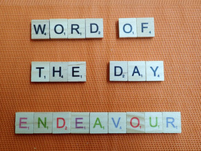 Word of the Day - endeavour