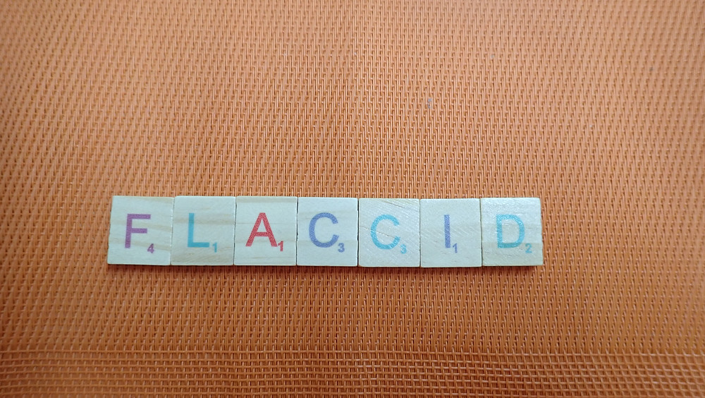 Word of the Day - flaccid
