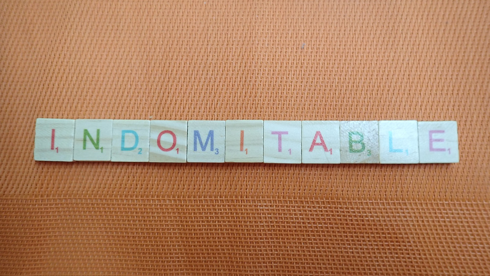 Word of the Day - indomitable