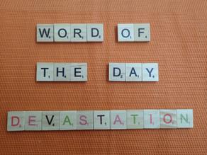 Word of the Day - devastation