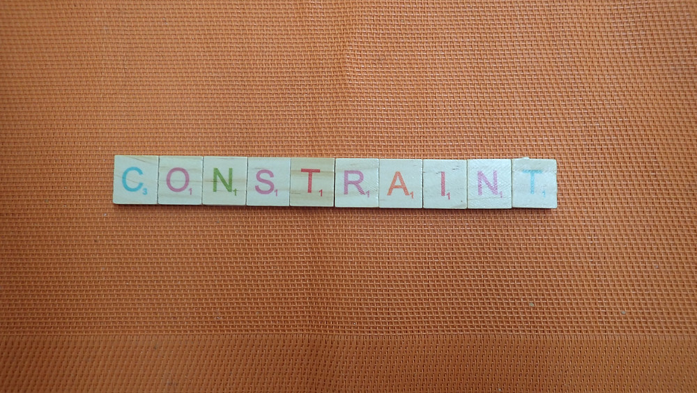 Word of the Day - Constraint