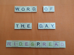 Word of the Day - widespread