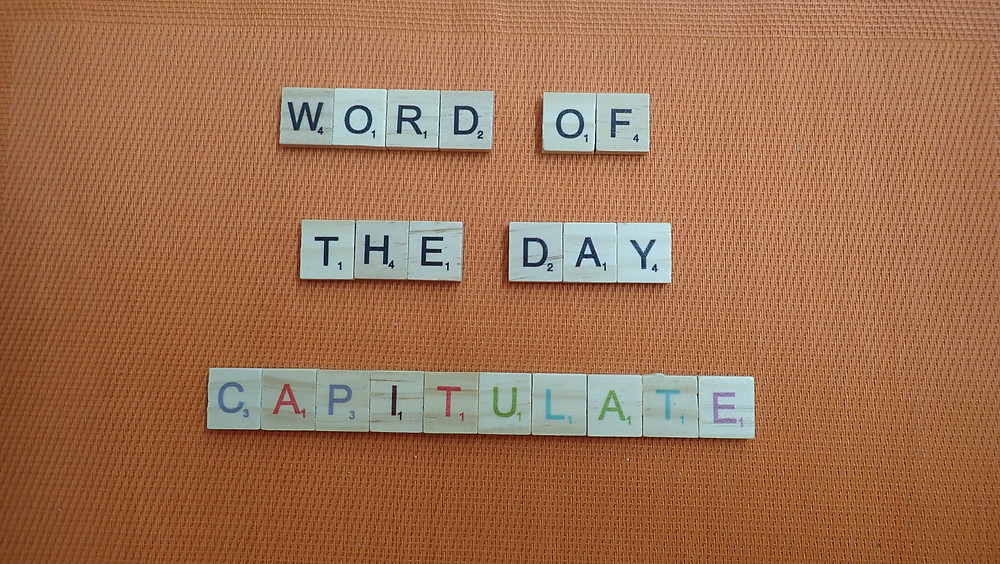 How to Pronounce - Capitulate