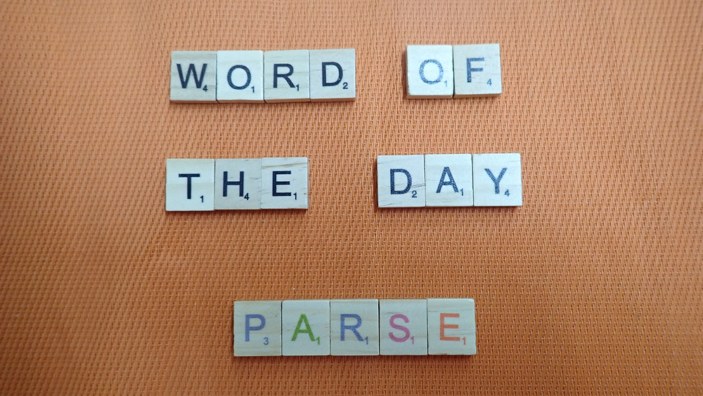 How to Pronounce - Parse