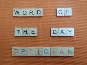 Word of the Day - optician
