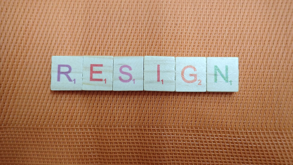 Word of the Day - Resign