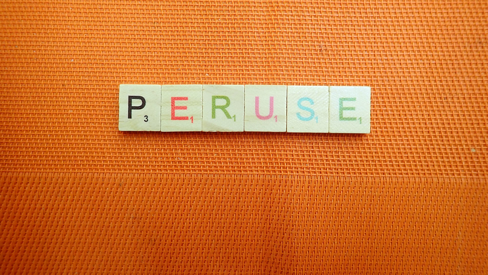 Word of the Day peruse