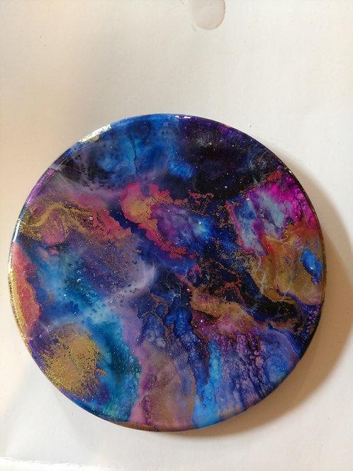 Nebula Disk Wall Art