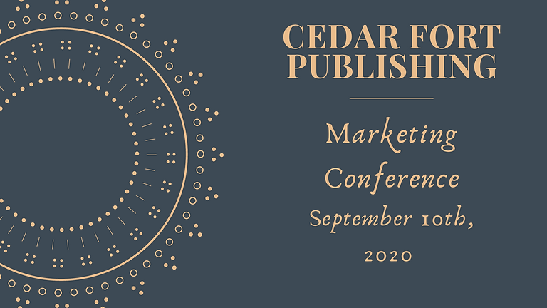 2020 Fall Marketing Conference Sponsored by Cedar Fort Publishing and Media