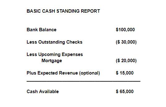 Basic Cash Standing