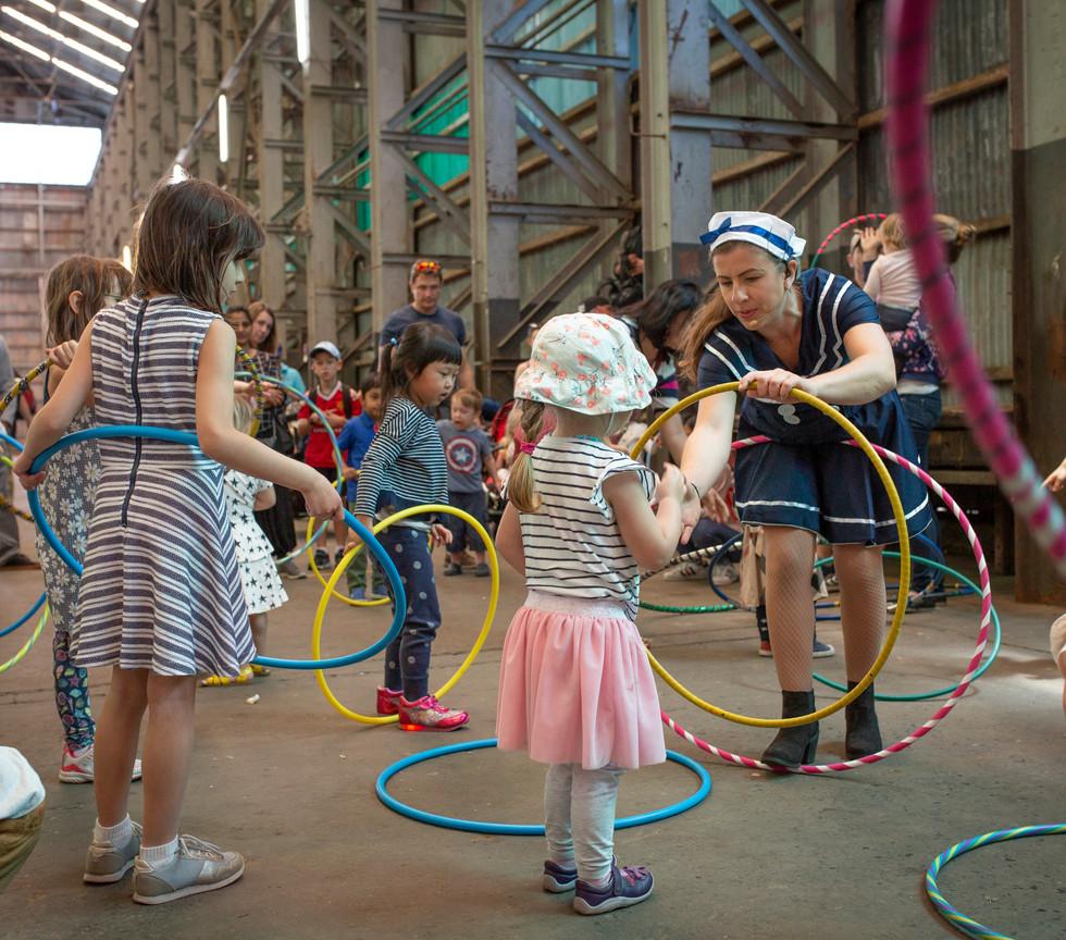 Ayla the Sailor Circus Workshop