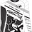 Thumbnail: Camiseta Feminina Sublimada Manga Longa - Dryfit -B&W - FPT 091