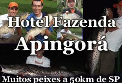 Hotel Fazenda Apingorá – Uma ótima estrutura com muitos lagos e grandes peixes