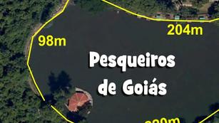 Conheça os Lagos dos Pesqueiros de Goiás, Tamanhos e Distância de seus arremessos em cada lugar