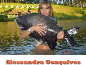 Alessandra Gonçalves – Um grande exemplo feminino na pesca esportiva