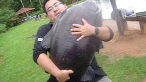 Pesqueiro Taquari – Uma pescaria em família com muitos gigantes na ponta da linha