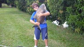 Pesqueiro Retiro das Lajes – Mais uma grande pescaria de nosso amiguinho Mateus