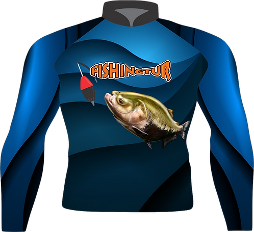 Camiseta Masculina Sublimada Manga Longa - Tambaqui Cevadeira - FPT 102