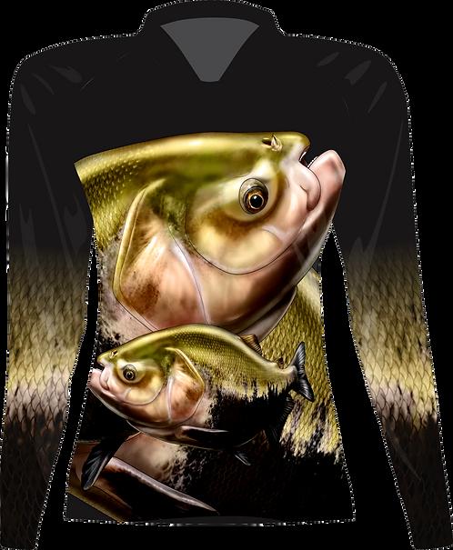 Camiseta Feminina Sublimada Manga Longa - Dryfit - Tambaqui - FPT 092