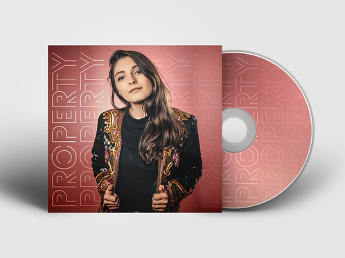 Property EP - Physical Copy CD