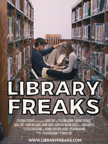 Library Freaks Poster