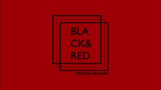 Black & Red Motion Graphics Logo