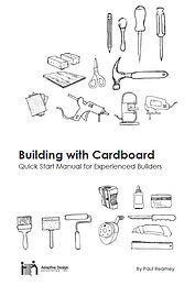 14 pages for people with experience building things but new to cardboard as a building material.