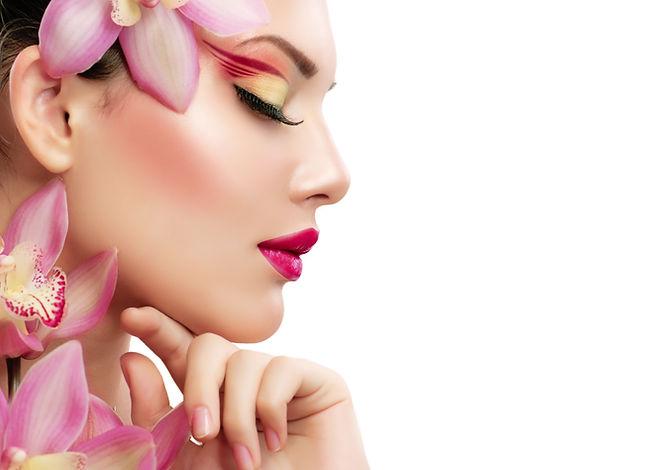 Beauty Woman. Beautiful Model Girl. Isol