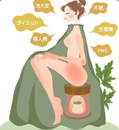 仙台市 エステ よもぎ蒸し ハーブ蒸し 妊活 温活 不妊 肩こり 冷え性 ダイエット サウナ スパ 便秘 なないろの里