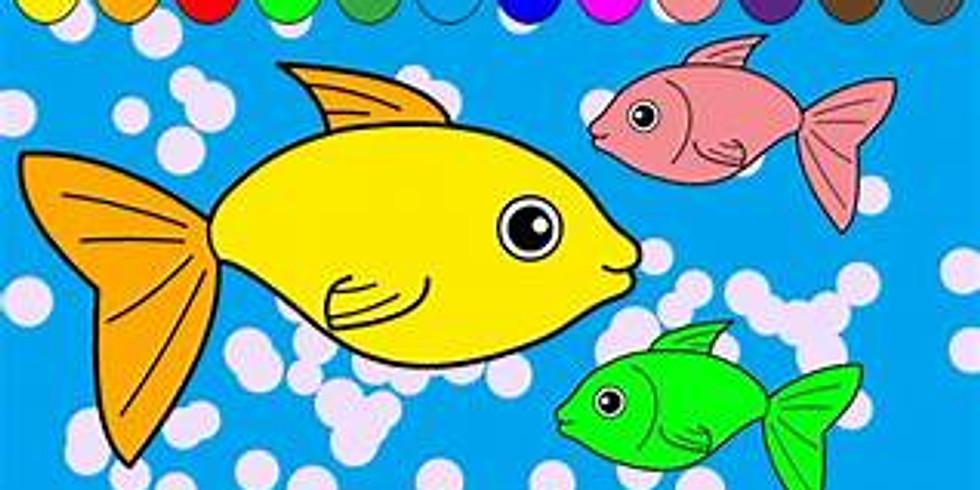 STEM and Art for the homeschooler-underwater seascape