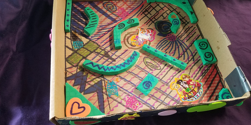 STEM and Art for the homeschooler-hexbug maze