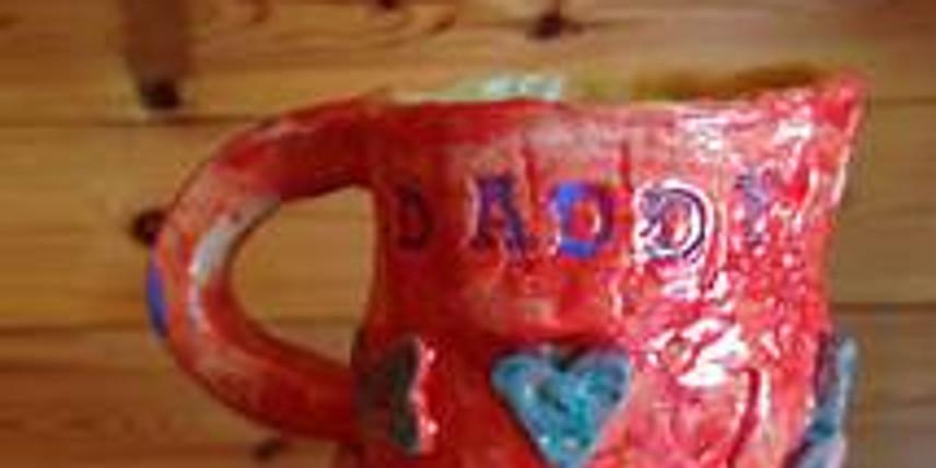 Pottery wheel experience-mug